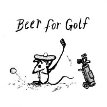 Off Color Beer For Golf 4pk