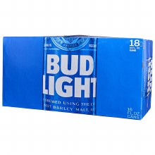 Bud Light 18pk Cans
