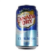 Canada Dry Club Soda Single