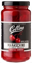 Collins Cocktail Cherries 10oz