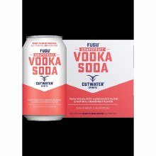 Cutwater Vodka Grapefruit 4pk