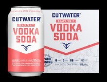 Cutwater Vodka Single 4pk