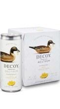 Decoy Seltzer Lemon Ginger 4p