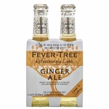 Fever Tree Light Ginger Ale 4p