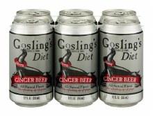 Gosling Diet Ginger Beer