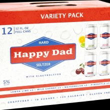Happy Dad Seltzer Variety Pack