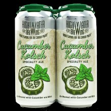 High Water Cucumber Kolsch 4pk