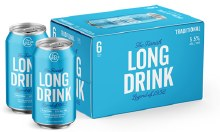 Long Drink Cranberry 6 Pk