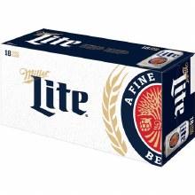 Miller Lite 18pk Cans