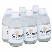Seagrams Club Soda 6pk