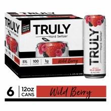 Truly Seltzer Wild Berry 6pk
