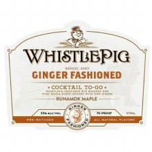 Whistlepig Ginger Fashioned