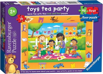 3059 TOYS TEA PARTY 16 PCE