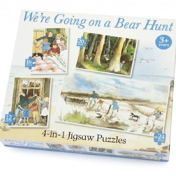 4425 4 IN 1 BEAR HUNT JIGSAW