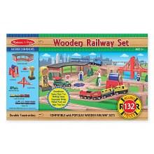 M&D WOODEN RAILWAY