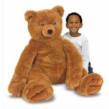 12138 M&D JUMBO BR TEDDY BEAR