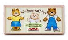 M&D WOODEN BEAR FAMILY DRESS