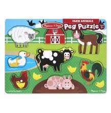 FARM ANIMALS PUZZLES