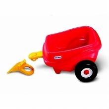COSY COUPE TRAILER-RED