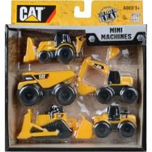 CAT MINI MACHINES 5PACK