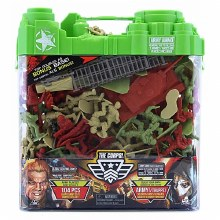 THE CORPS ARMY PLAYSET 104PCS