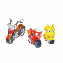 RICKY ZOOM VEHICLE & ACTION AC