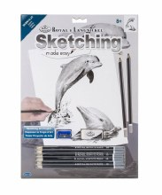 SKETCHING MADE EASY -DOLPHINS