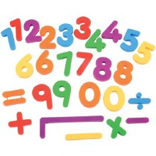 KIDY BOARD 40 MAGNETIC NUMBERS