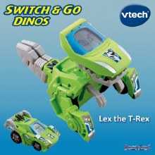 SWITCH & GO HORNS TRICERATOPS