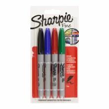 SHARPIE 4 FINE TIP PERMANENT