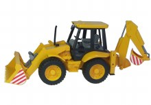BR JCB 4CX TRACTOR WITH FR LOA