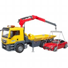 B MAN TOW TRUCK WITH ROADSTER