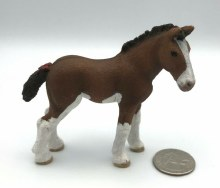 13810 SCHLEICH CLYDESDALE FOAL