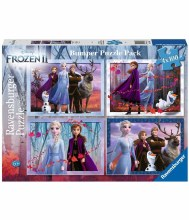 3019 FROZEN 2  4 IN A BOX PUZZ
