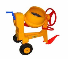 ROLLY CEMENT MIXER/HITCH