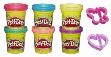 PLAY-DOH SPARKLES 6 PACK