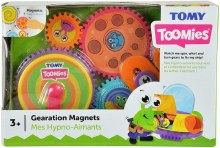 TOMY TOOMIES GEARATION MAGNETS