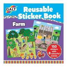 GALT REUSABL STICKER BOOK FARM