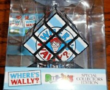 5745 WHERES WALLY RUBIKS CUBE