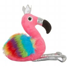 60CM FLAMINGO WITH RANBOW WING
