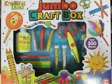 JUMBO CRAFT BOX IN COLOUR BOX