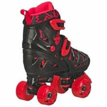 QUAD SKATES RED/BLACK 12-2