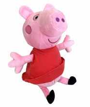 "10"" PEPPA PIG CHARACTER PLUSH"
