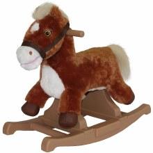 BABYLO ROCKING HORSE BROWN