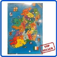 100 PCE MAP OF IRELAND