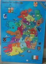 IRELAND MAP PUZZLE