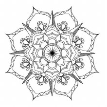 ART THERAPY ADULT COLOURING