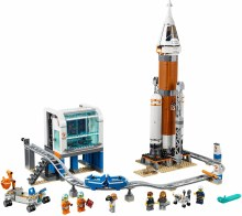 60228 DEEP SPACE ROCKET AND