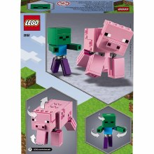 21157 MINECRAFT PIG WITH BABY