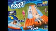 H2O GO TRIPLE WATER SLIDE